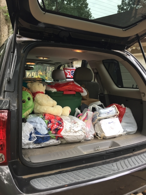 Donations Supplies for Baton Rouge
