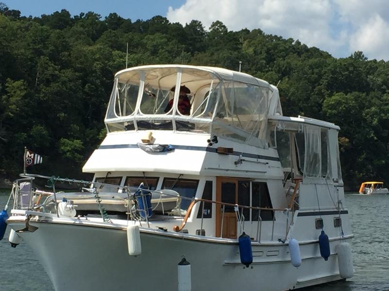 John White aboard White Cloud