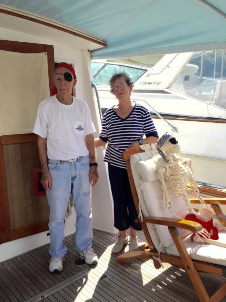 JC Kennedy and Carolyn Flack