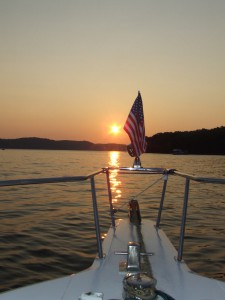 Sunset On Pickwick Lake